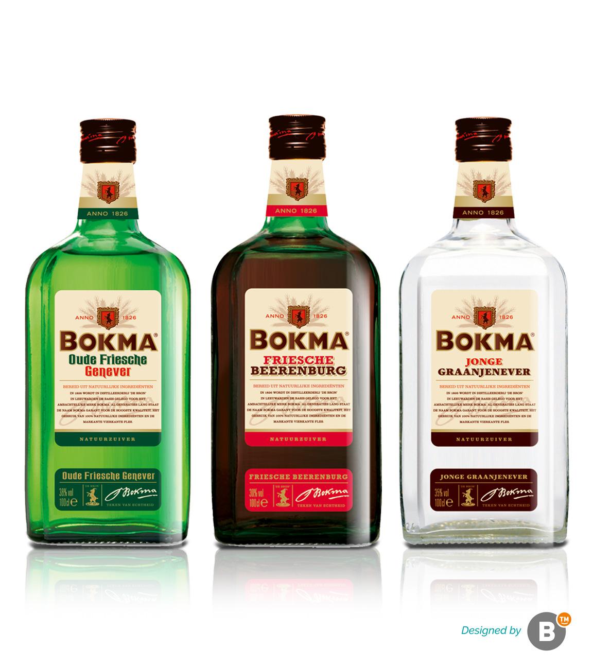 Packaging design Bokma merk