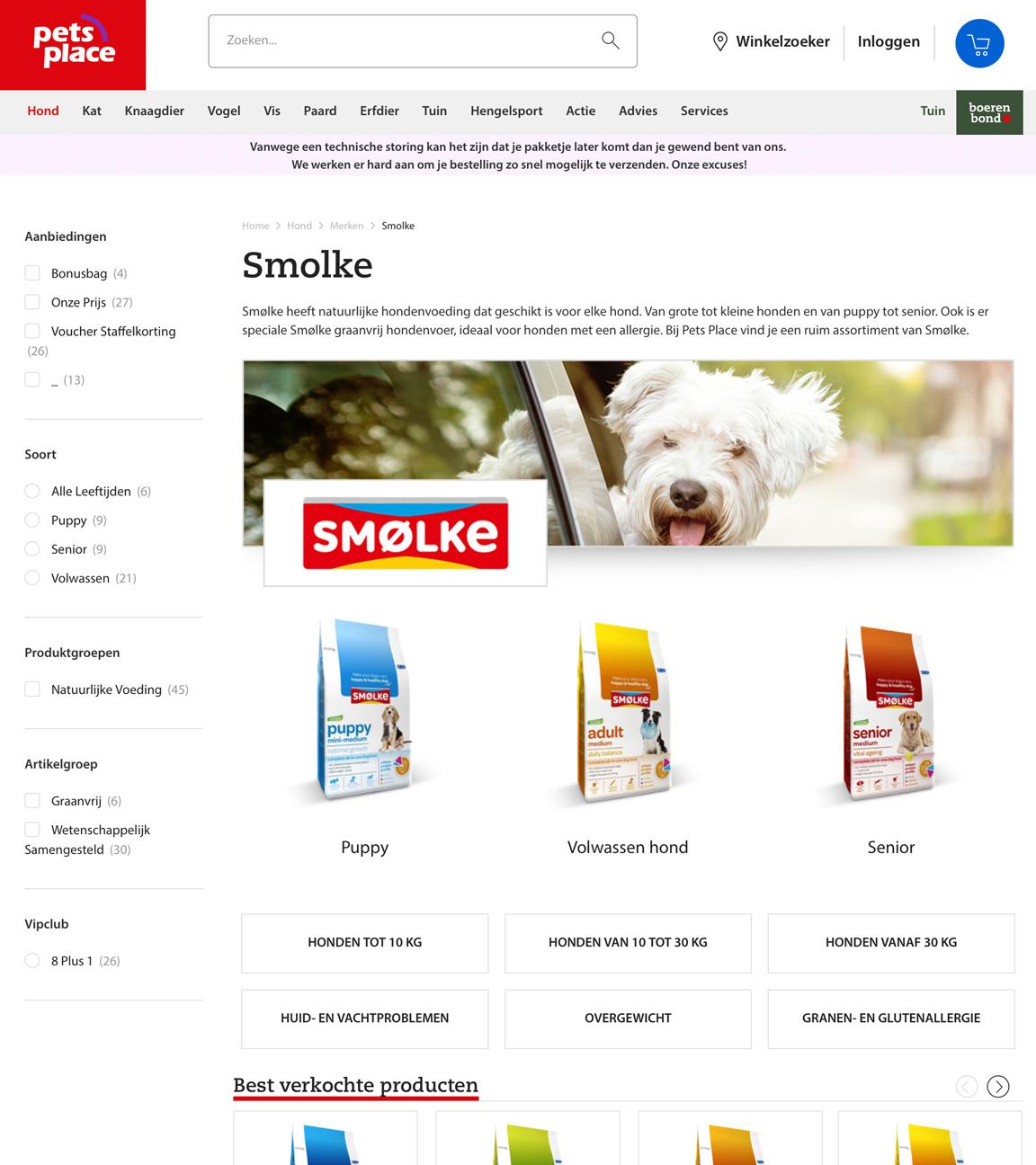 Online packaging design Webshops