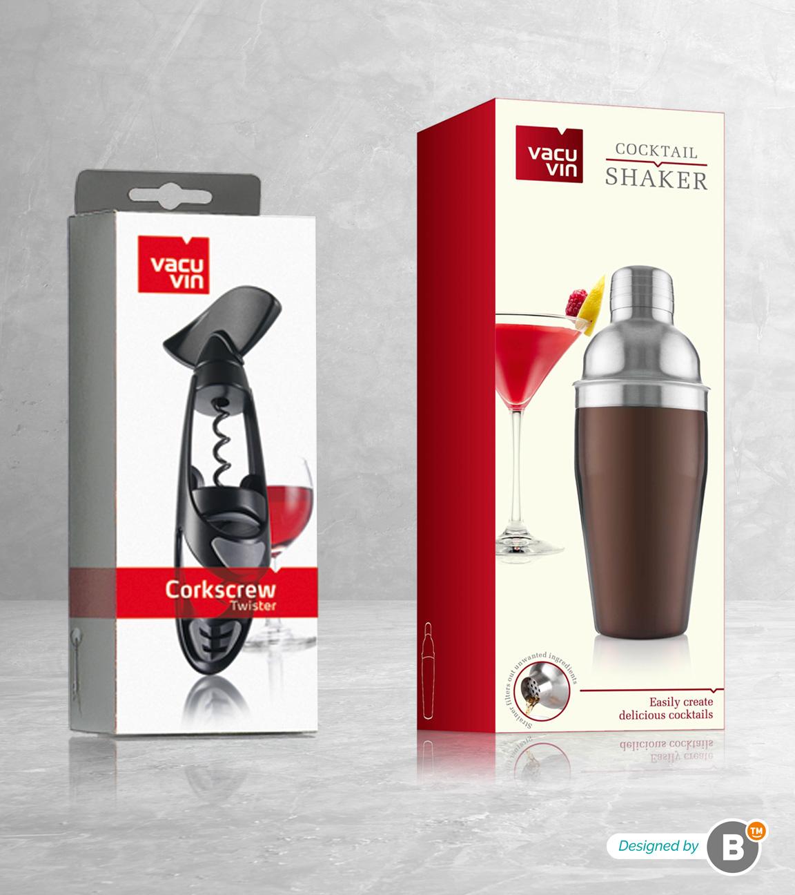 Packaging design Vacu vin restyling
